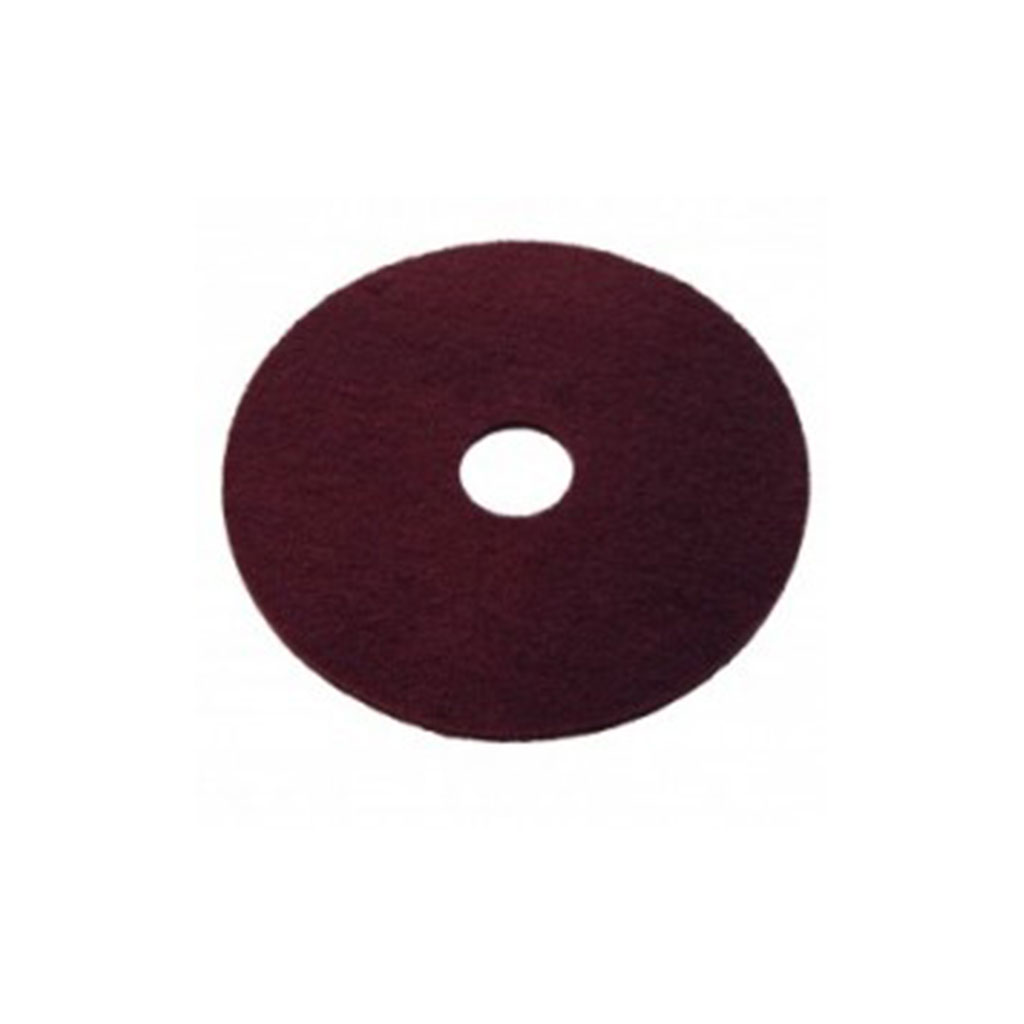 GS320 industriele pad bordeaux rood 16 inch - Monocoatwebshop