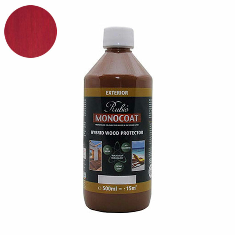 Monocoat Hybrid Wood Protector 0,5 liter Dragonfruit - Monocoat