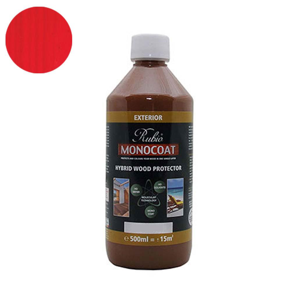 Monocoat Hybrid Wood Protector 0,5 liter Poppy - Monocoat
