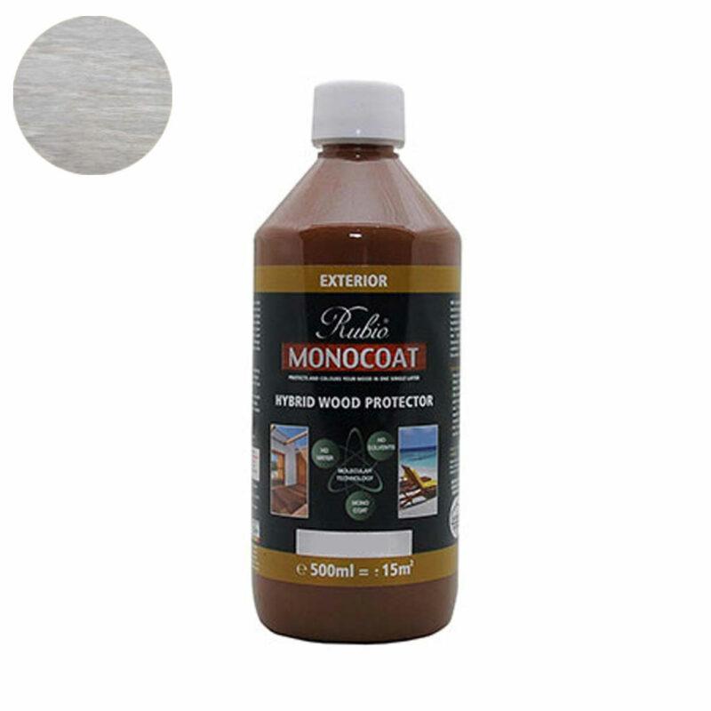 Monocoat Hybrid Wood Protector 0,5 liter Teak White - Monocoat
